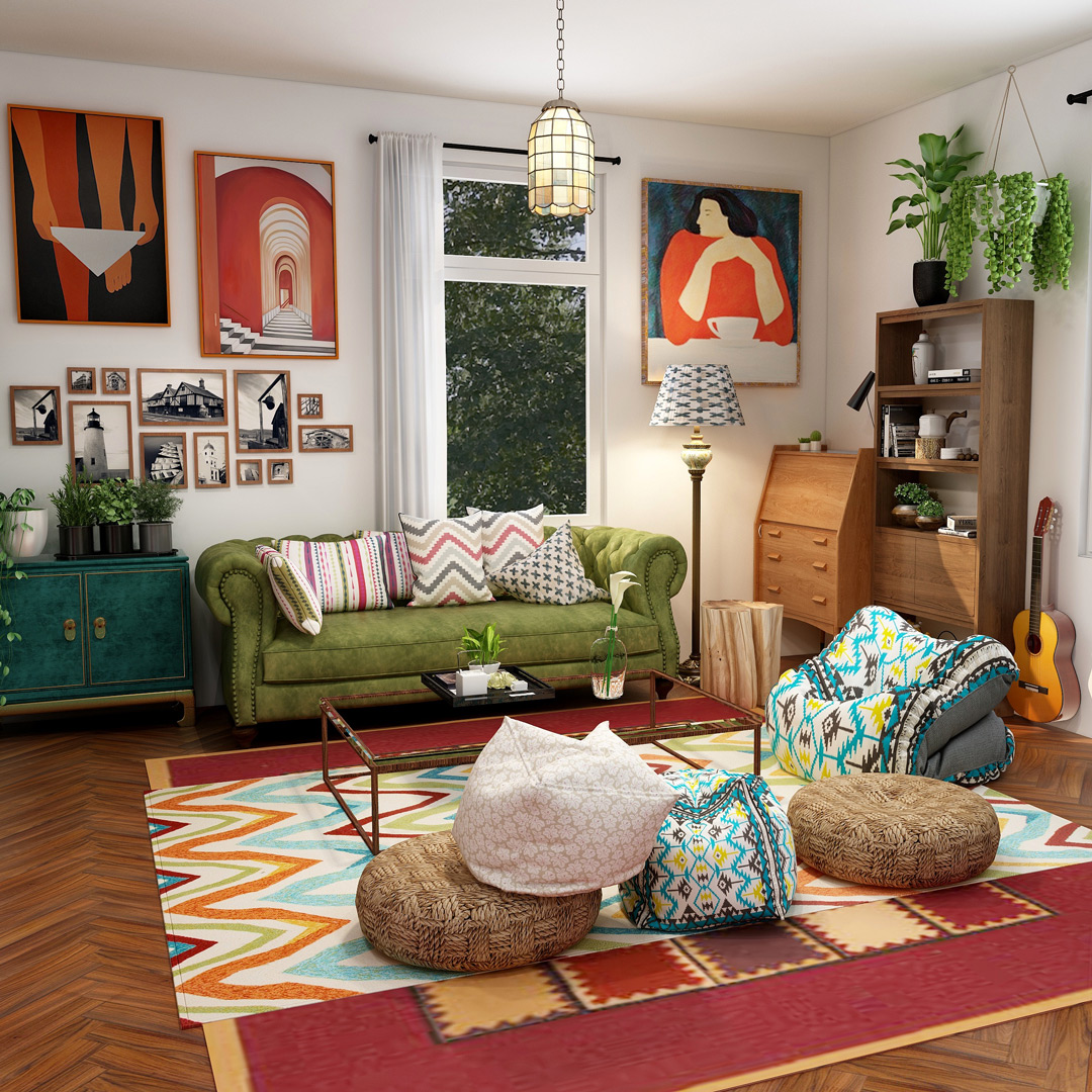 How To Get Bohemian Design Style The Coohom Blog